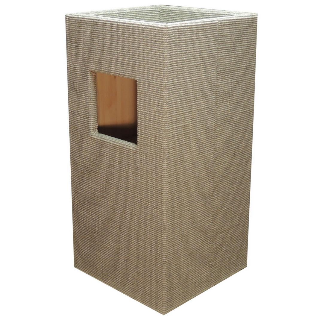 kratzbaum online shop kratzbaum convenient i hellgrau. Black Bedroom Furniture Sets. Home Design Ideas