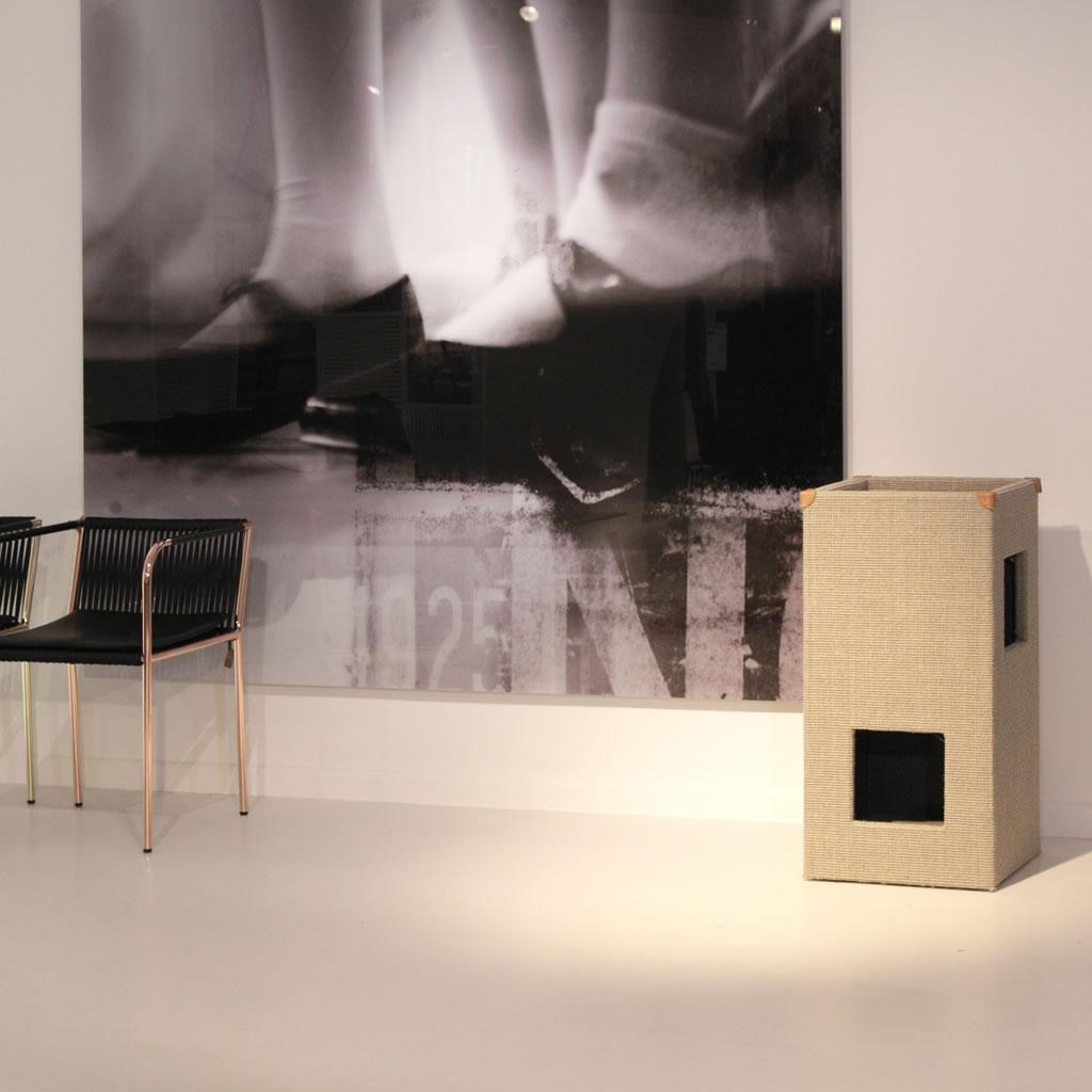 kratzbaum online shop kratzbaum convenient i hellgrau gebeizt ohne lederecken. Black Bedroom Furniture Sets. Home Design Ideas