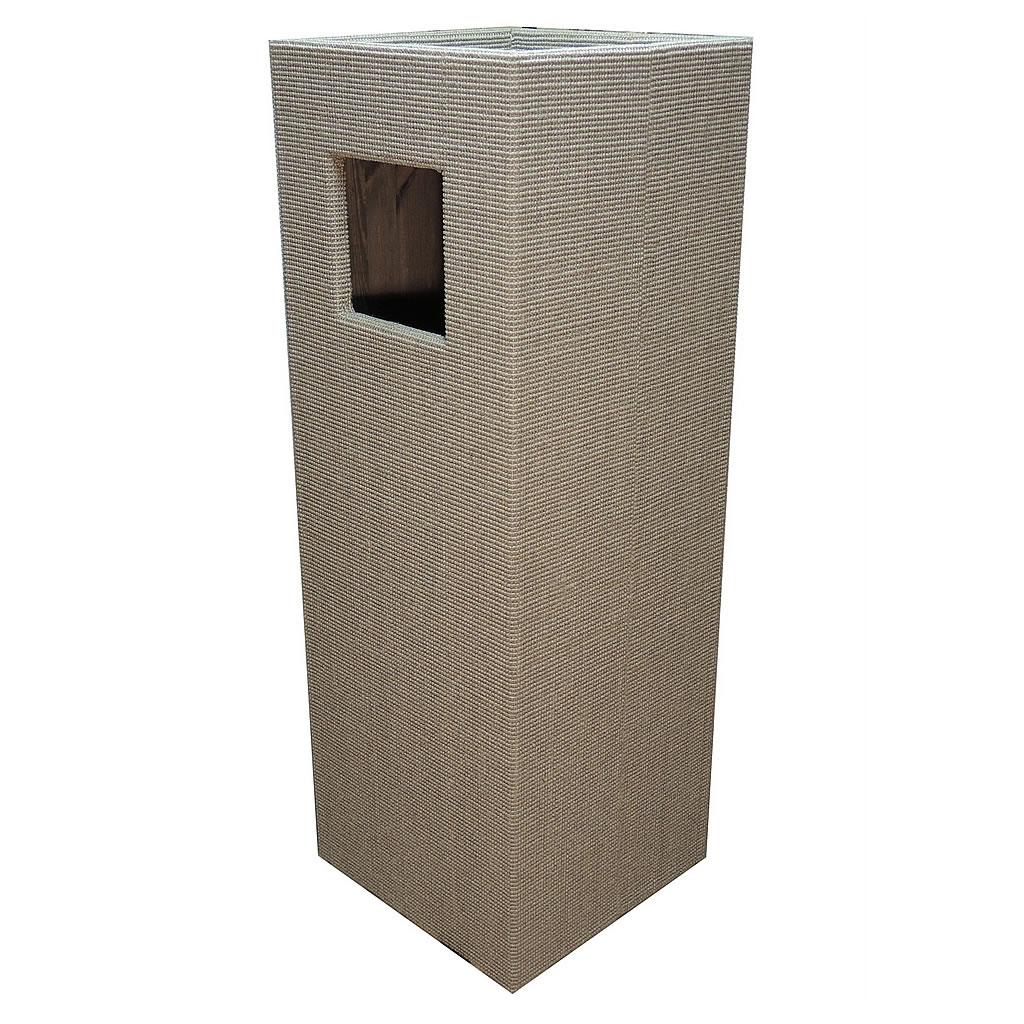 kratzbaum online shop kratzbaum convenient ii hellgrau. Black Bedroom Furniture Sets. Home Design Ideas