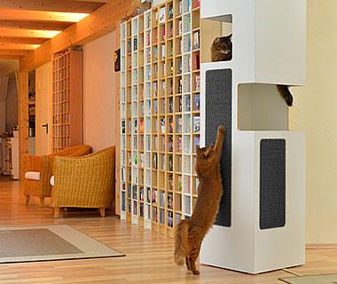 kratzbaum online shop variante anthrazit. Black Bedroom Furniture Sets. Home Design Ideas