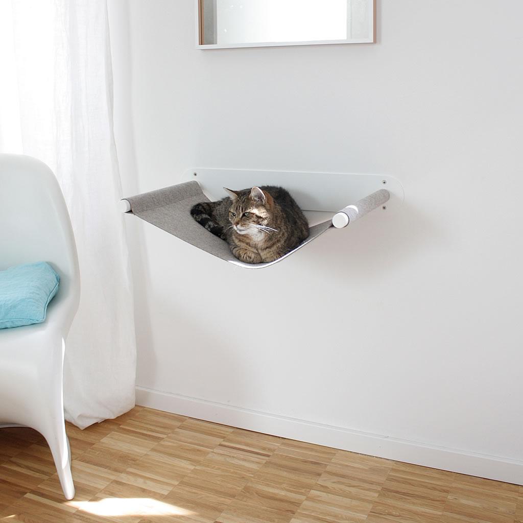 kratzbaum online shop katzenbett h ngematte lounger wei. Black Bedroom Furniture Sets. Home Design Ideas