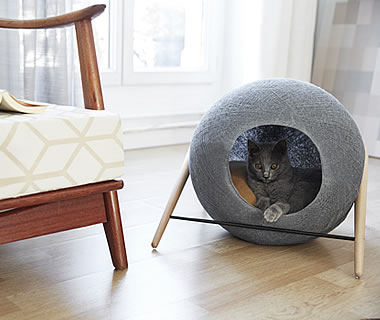 Cat Cave, Cuddly Cave THE BALL - More product information