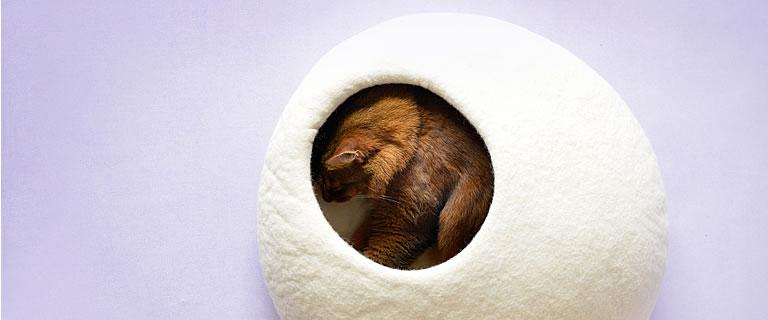 filzh hle homy kuschelh hlen stylecats design kratzbaum. Black Bedroom Furniture Sets. Home Design Ideas