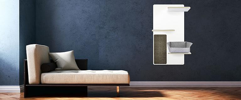 kratzbaum kratzwand relex kratzb ume stylecats design kratzbaum. Black Bedroom Furniture Sets. Home Design Ideas