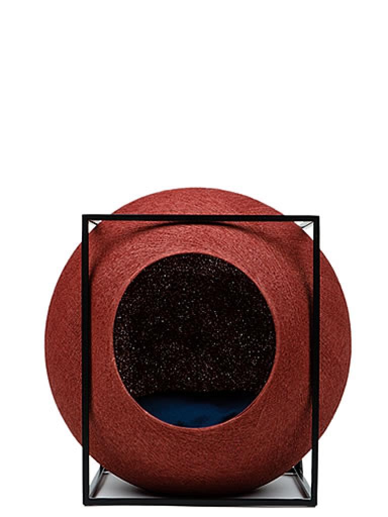 kratzbaum online shop kuschelh hle the cube terrakotta. Black Bedroom Furniture Sets. Home Design Ideas