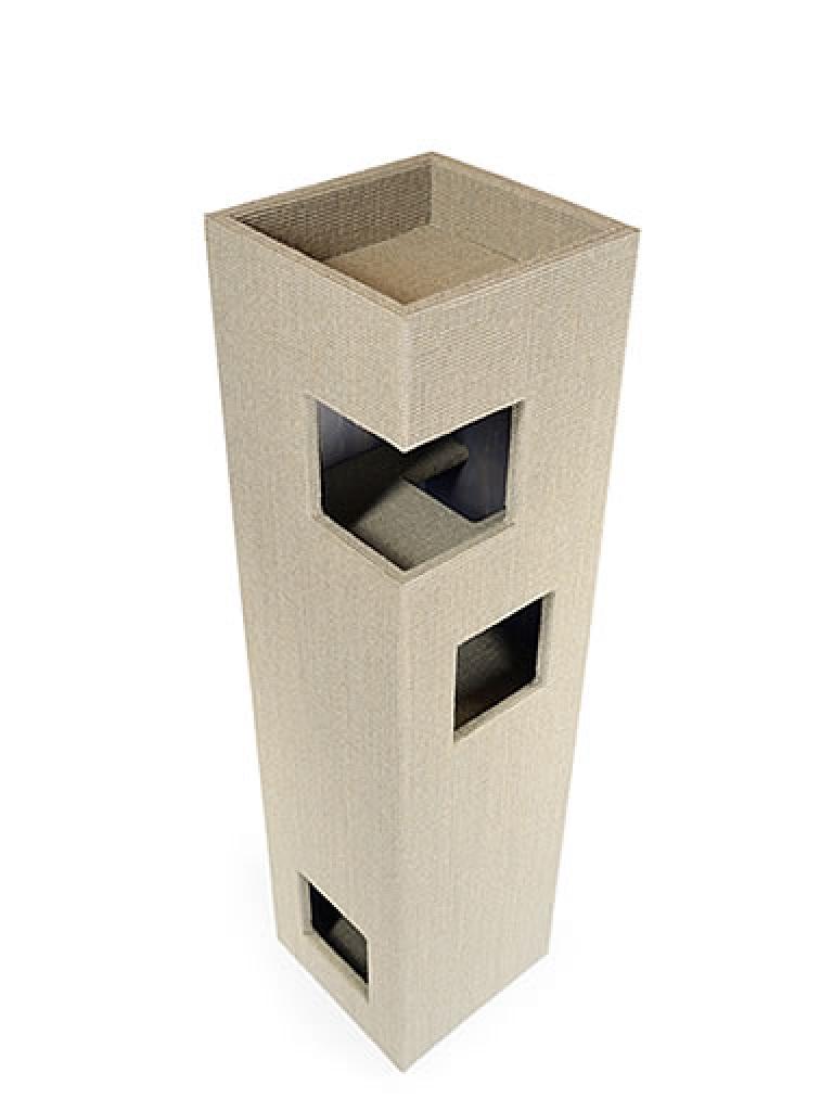 kratzbaum online shop kratzbaum dome gebeizt ohne lederecken. Black Bedroom Furniture Sets. Home Design Ideas